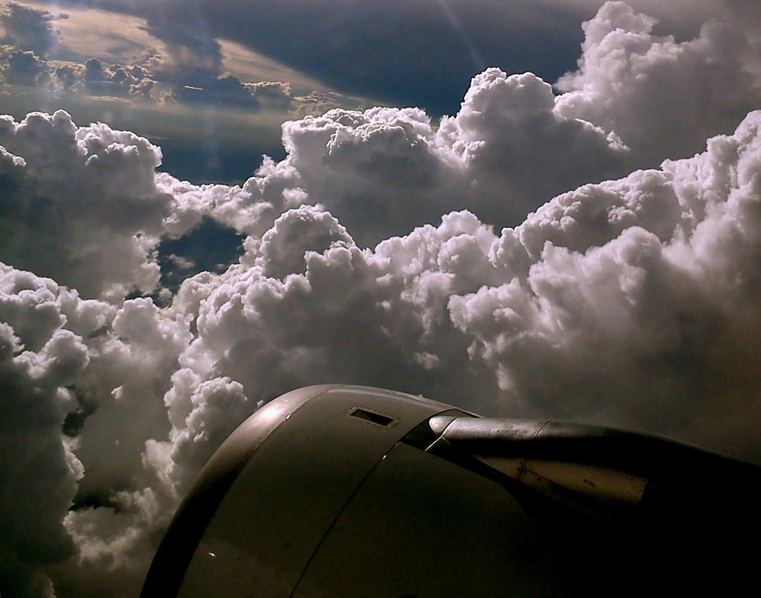 Cumulus Clouds Over South Africa